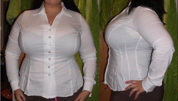 iri göğüslüler için gömlek nasıl olmalı