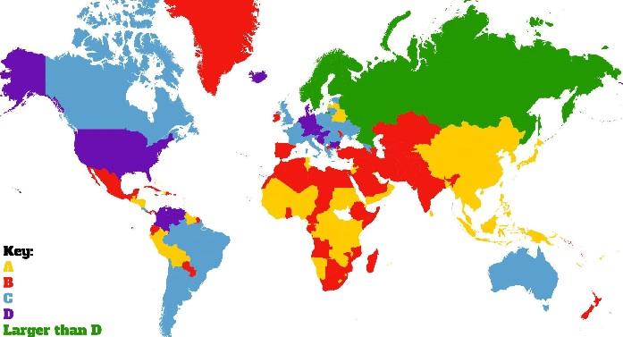 meme büyüklüğü haritasi